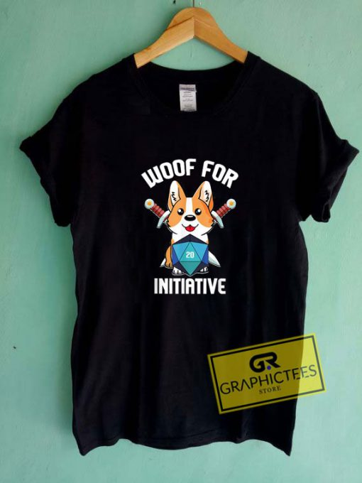Woof For Initiative Tee Shirts