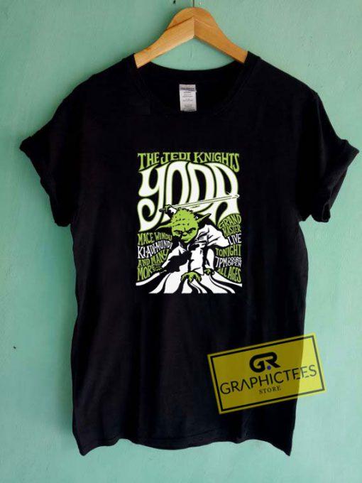 Yoda And Jedi KnightsTee Shirts