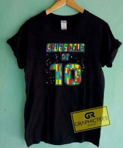 10 Years Old Birthday Tee Shirts