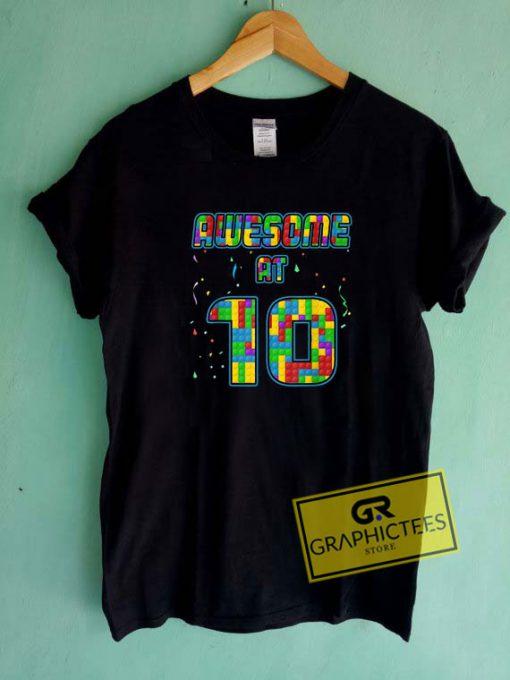 10 Years Old Birthday Tee Shirts