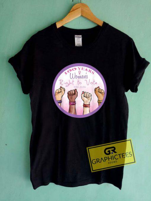 100 Years Womens RightTee Shirts