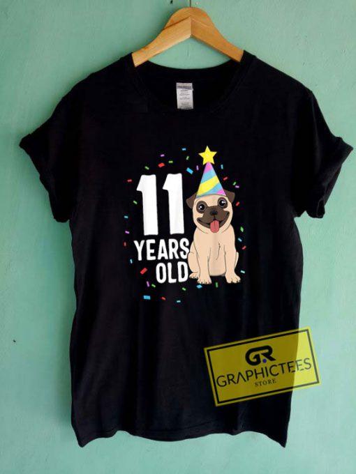 11 Years Old Birthday Tee Shirts