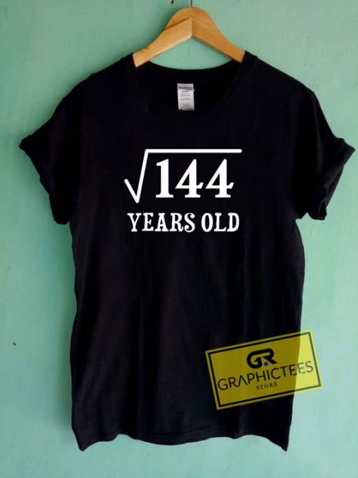 12 Years Old 144 Tee Shirts