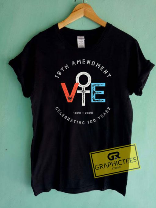 19th Amendment Centennial Tee Shirts