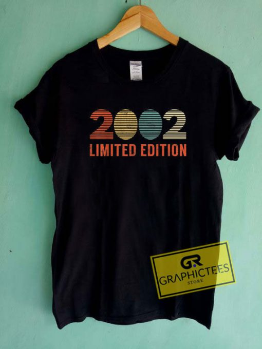 2002 Limited Edition Tee Shirts