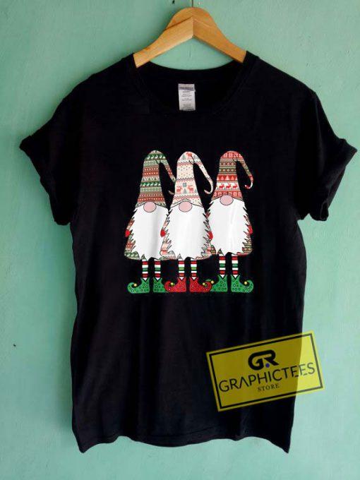 3 Nordic Gnomes WinterTee Shirts