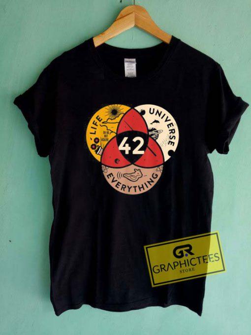 42 Answer To Life UniverseTee Shirts