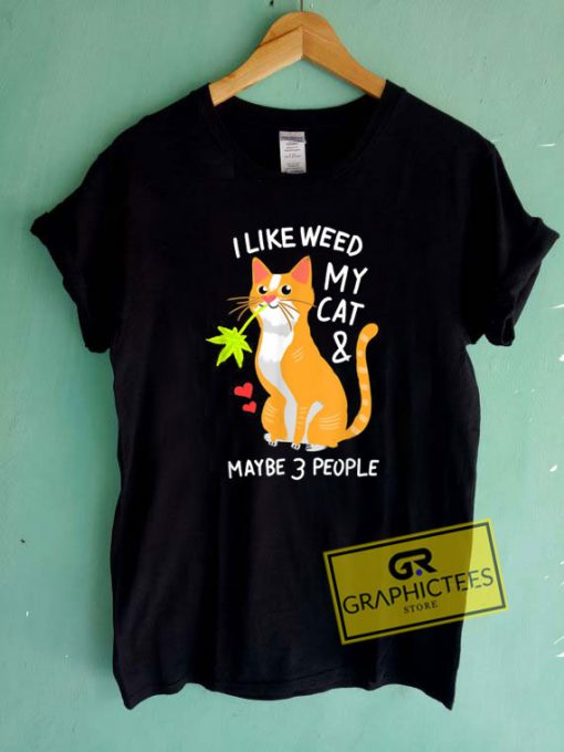 420 Weed Cat Pot Kitten Tee Shirts