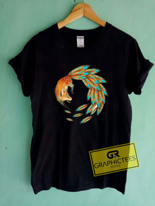 9 Tailed Fox Tee Shirts