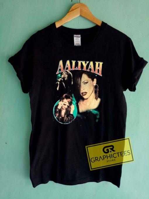 Aaliyah ThrowbackTee Shirts