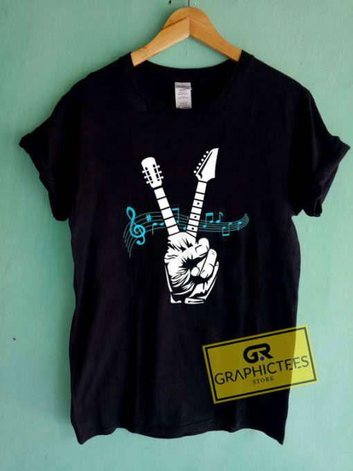 Acoustic Guitar Fingers Tee Shirts
