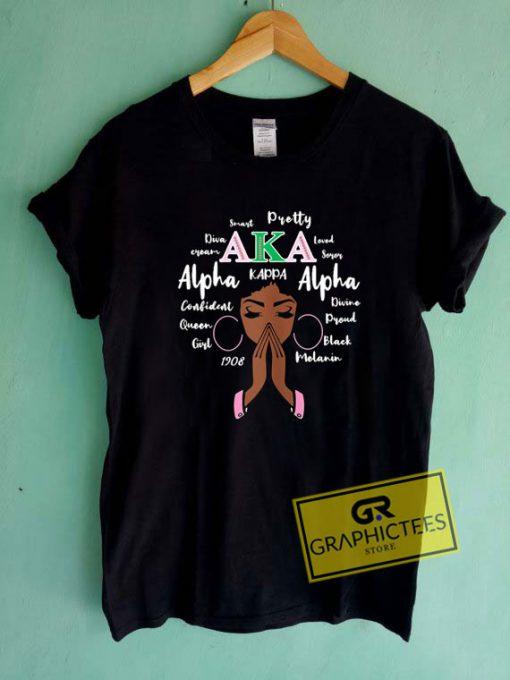 Aka Wee 1908 AlphaTee Shirts