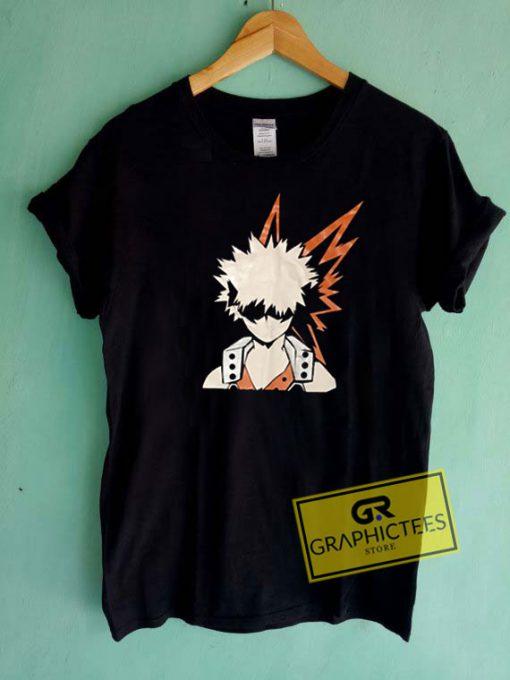 Bakugo My Hero AcadamiaTee Shirts
