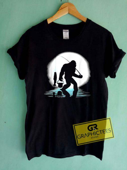 Bigfoot Fishing Tee Shirts