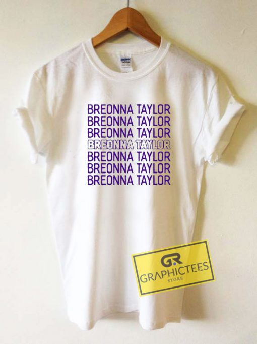 Breonna Taylor Art LetterTee Shirts