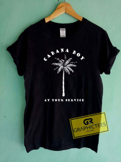 Cabana Boy At Your Service Tee Shirts