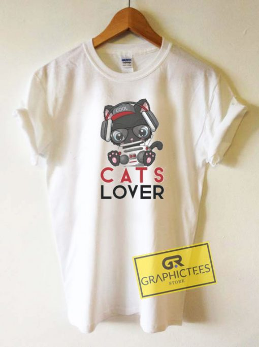 Cats Lover Graphic Tee Shirts