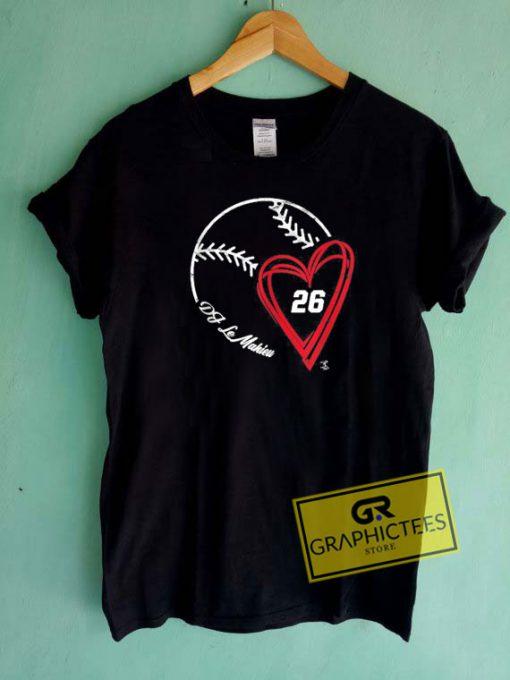 DJ Lemahieu Baseball Tee Shirts