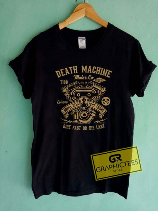 Death Machine MotorcycleTee Shirts