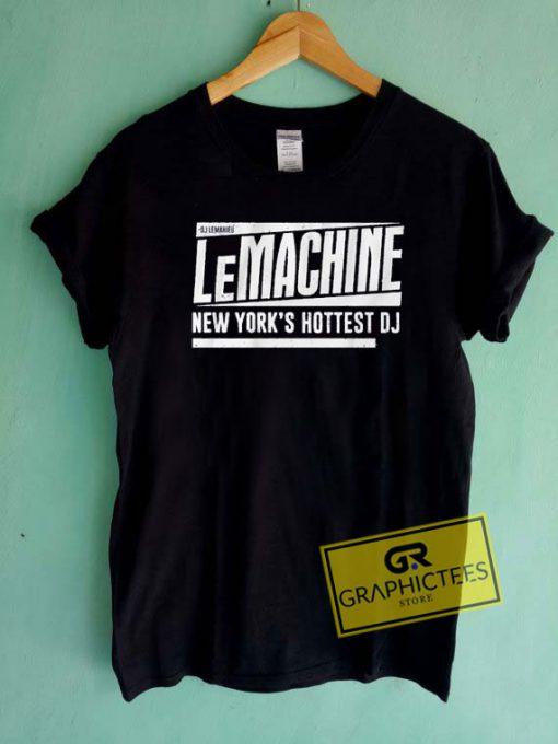 Dj Lemahieu Lemachine Tee Shirts