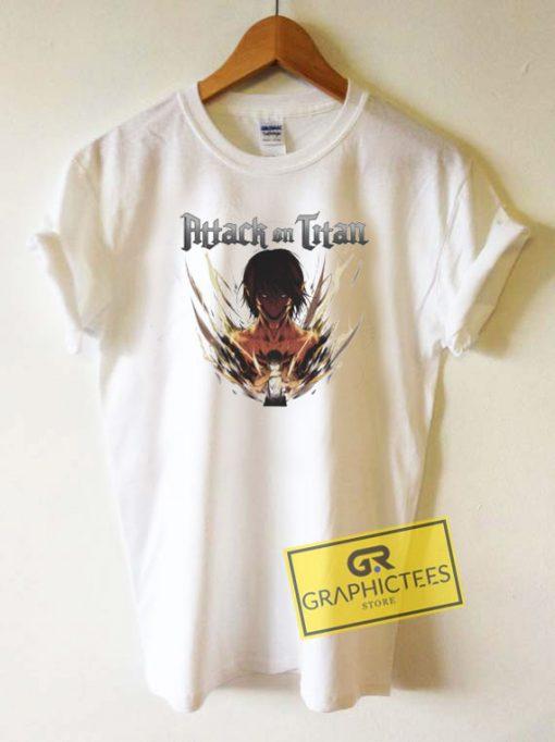 Eren Yeager Anime Tee Shirts