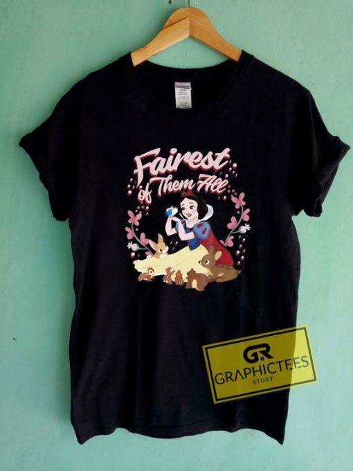 Fairest Floral WreathTee Shirts
