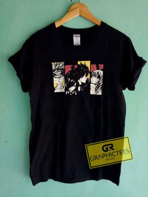 Fairy Tail Manga Tee Shirts