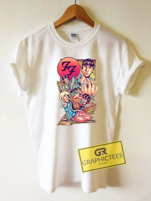 Foo Fighters Graphic Tee Shirts
