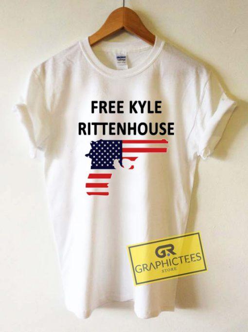 Free Kyle Rittenhouse Funny Tee Shirts