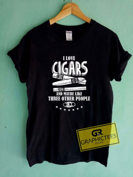 Funny Cigar Accessories Tee Shirts