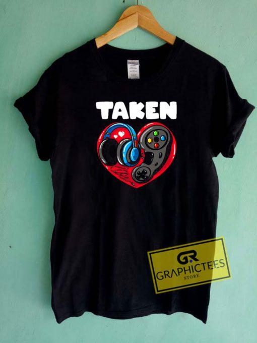 Game Lover Men TakenTee Shirts