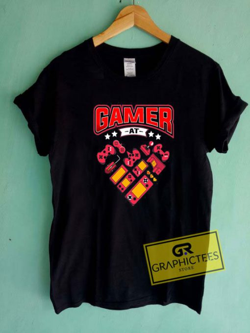 Gamer At Heart Tee Shirts