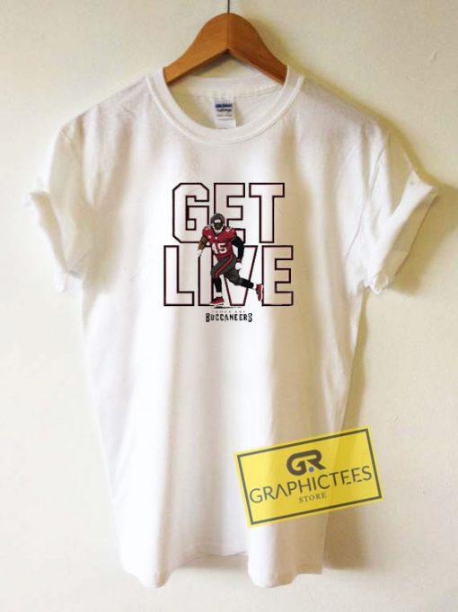 Get Live BuccaneersTee Shirts