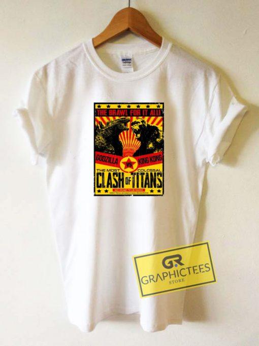 Godzilla Vs KongTee Shirts