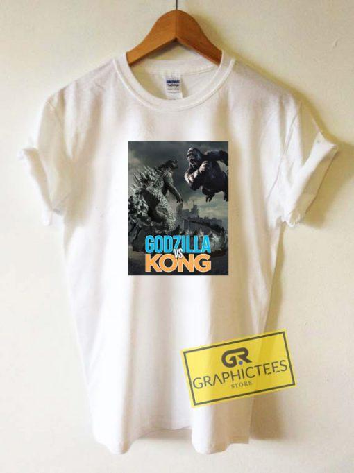 Godzilla vs Kong Poster Tee Shirts