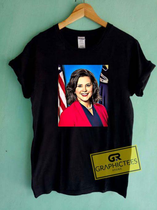 Gretchen Whitmer Poster Tee Shirts