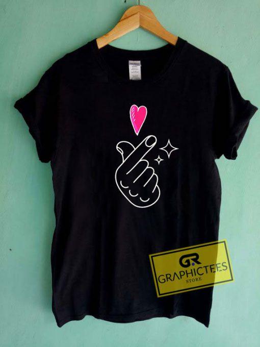 Heart Love Graphic Tee Shirts