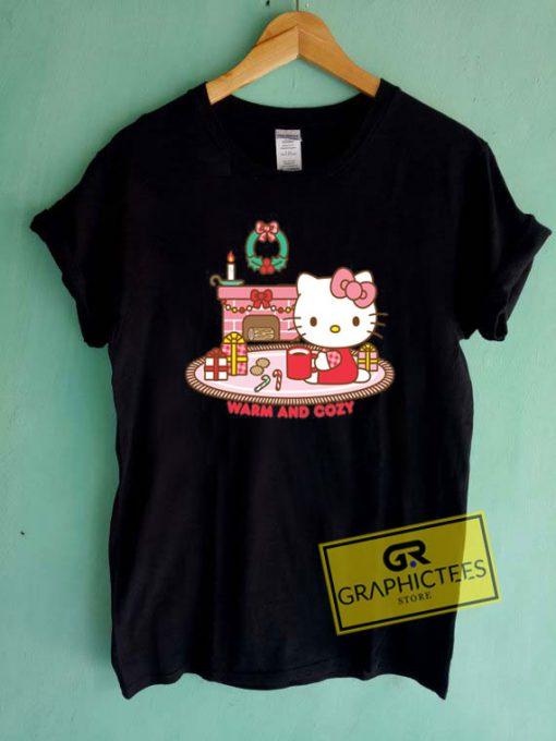 Hello Kitty Warm And CozyTee Shirts