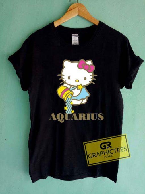Hello Kitty Zodiac AquariusTee Shirts