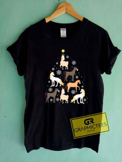 Horse ChristmasTee Shirts