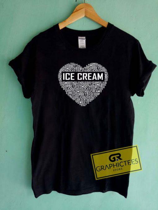 Ice Cream LoverTee Shirts