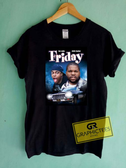 Ice Cube Friday Poster Tee Shirts