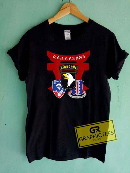 Infantry Regiment Rakkasans Tee Shirts