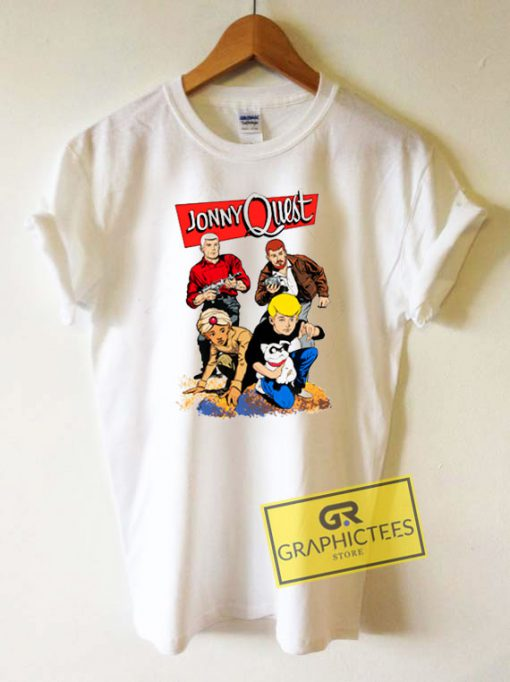 Jonny Quest Tee Shirts