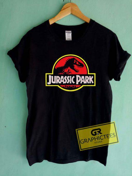 Jurassic Park DistressedTee Shirts