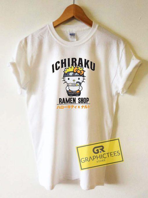 Kitty Ichiraku Ramen ShopTee Shirts