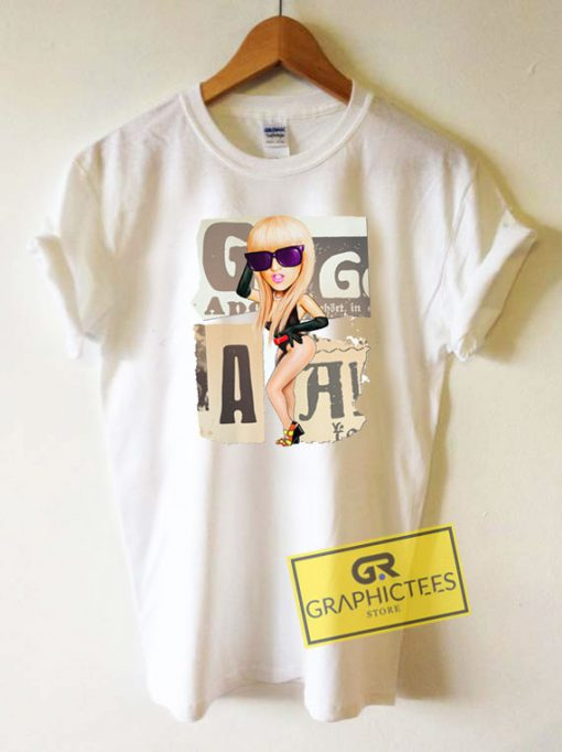 Lady Gaga Graphic Tee Shirts