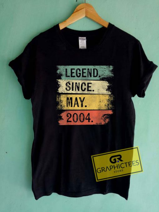 Legend Since May 2004 Tee Shirts