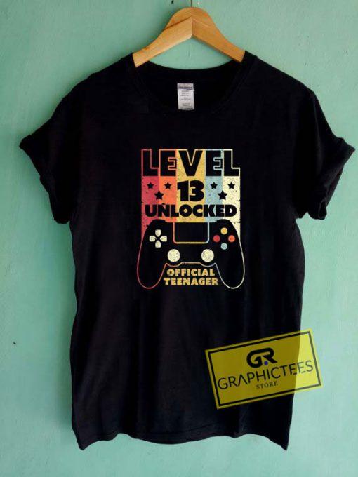 Level 13 UnlockedTee Shirts