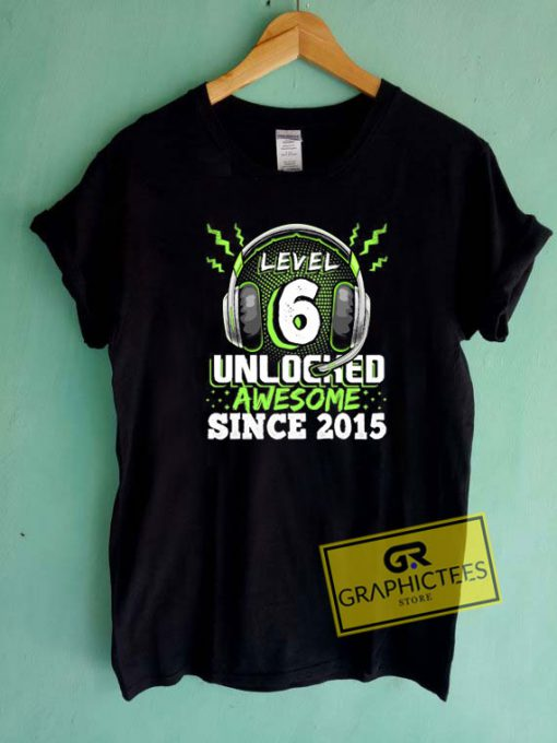 Level 6 Unlocked Awesome 2015 Tee Shirts